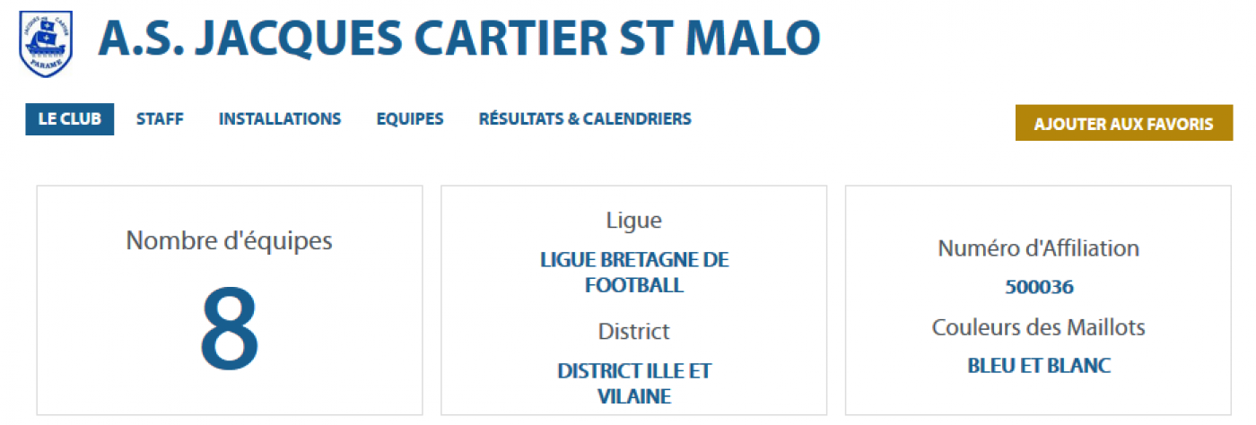 AS Saint-Malo Jacques Cartier